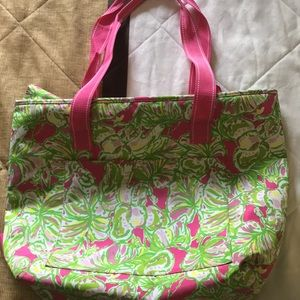 Lilly Pulitzer Large Beach Tote Bag